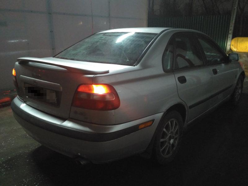 Вольво s40 1,8 акпп 2003 года выпуска