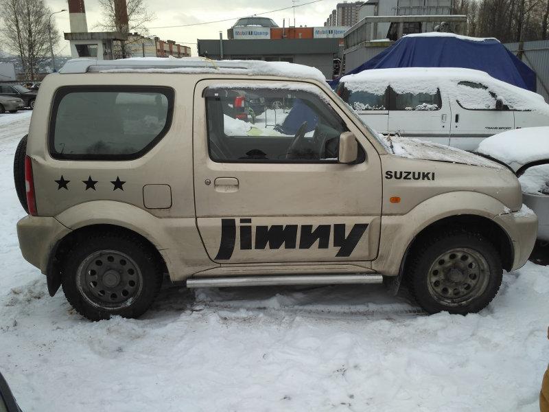 Сузуки Джимни 1.3 мкпп 2008 года выпуска